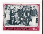 Sellos del Mundo : Asia : Filipinas : Joseph Kennedy and family