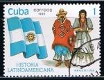 Sellos del Mundo : America : Cuba : Scott  3253 Argentina (trajes tipicos)
