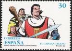 Sellos del Mundo : Europa : España : Comic personajes de ficción