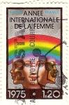 Sellos de Europa - Francia -  Anee international de la femme