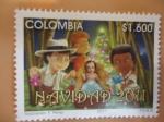 Sellos de America - Colombia -  Navidad 2011(Ilustracíón: F. Perez)