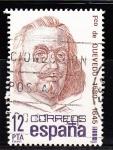 Sellos de Europa - España -  E2619 Francisco de Quevedo (390)