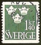 Sellos del Mundo : Europa : Suecia : TRES CORONAS