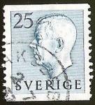 Sellos del Mundo : Europa : Suecia : GUSTAVO VI ADOLFO DE SUECIA