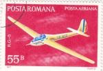 Sellos de Europa - Rumania -  aeronautica