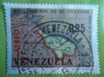 Sellos de America - Venezuela -  Reclamación de su Guayana(Mapa de J. Cruz Caño 1775)