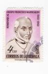 Sellos del Mundo : America : Guatemala : Obispo Francisco Marroquin