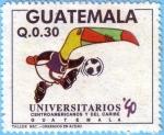 Sellos de America - Guatemala -  Juegos Universitarios Centroamericanos y del Caribe