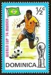 Sellos del Mundo : America : Dominica : WORLD CUP 1974 MUNICH - BRASIL