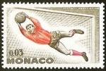 Sellos del Mundo : Europa : Mónaco : FOOTBALL ASSOCIATION MONACO - ARQUERO
