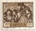 Sellos del Mundo : Europa : España : Velázquez - Los borrachos