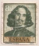 Sellos del Mundo : Europa : España : Velázquez - Autorretrato