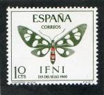 Sellos del Mundo : Europa : España : IFNI  221. DIA DEL SELLO . MARIPOSAS.