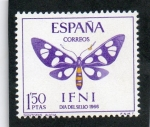 Sellos del Mundo : Europa : España : IFNI  223   DIA DEL SELLO . MARIPOSAS.