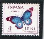 Sellos del Mundo : Europa : España : IFNI  224  DIA DEL SELLO. MARIPOSAS.
