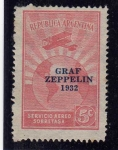 Sellos del Mundo : America : Argentina : zeppelin