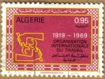 Sellos del Mundo : Africa : Argelia : Organizacion Nacional del Trabajo