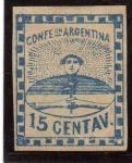 Sellos del Mundo : America : Argentina : confederacion argentina