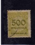 Sellos de Europa - Alemania -  sello aleman