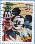 Sellos de America - Estados Unidos -  Mickey & Friends