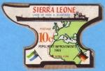 Sellos del Mundo : Africa : Sierra_Leona : Pepel Port Improvements 1969