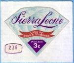 Sellos del Mundo : Africa : Sierra_Leona : Land of Iron & Diamonds