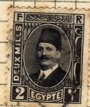 Sellos del Mundo : Africa : Egipto : Rey Fouad