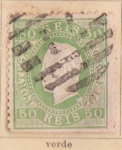 Sellos de Europa - Portugal -  Luis III Ed 1870