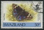 Sellos del Mundo : Africa : Swazilandia : S608 - Mariposas
