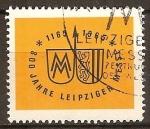 Sellos de Europa - Alemania -  800.Años de feria en Leipzig,1165-1965.