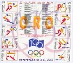 Sellos del Mundo : Europa : España : 3325/34-  Deportes. Olímpicos de Oro. Varios deportes.