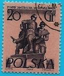 Sellos de Europa - Polonia -  Monumento a la hermandad de armas en Varsovia