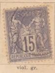 Sellos de Europa - Francia -  Republica Francesa Ed 1876