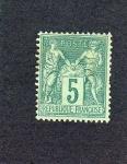 Sellos del Mundo : Europa : Francia : sello antiguo de francia