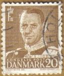 Sellos del Mundo : Europa : Dinamarca : FREDERICK IX