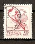 Sellos de Europa - Polonia -  Flores.