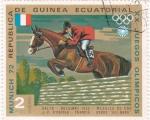 Sellos de Africa - Guinea Ecuatorial -  Juegos Olimpicos Munich 72