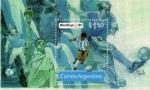 Sellos de America - Argentina -  mundial de futbol 1994
