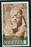 Sellos del Mundo : Africa : Nigeria : Monumentos de Nubia (Egipto)