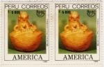 Sellos de America - Perú -  Medicina precolombina