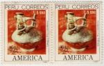 Sellos de America - Perú -  Cirugía precolombina