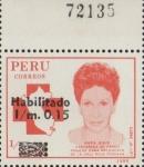Sellos de America - Perú -  CRUZ ROJA PERUANA