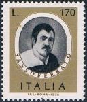 Sellos de Europa - Italia -  PERSONAJES ITALIANOS. GIOVANNI BATTISTA SALVI, EL SASSOFERRATO, PINTOR. Y&T Nº 1283