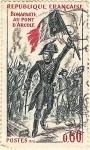 Sellos de Europa - Francia -  Bonaparte au pont d'Arcole