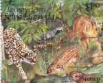 Sellos del Mundo : America : México : Selva humeda