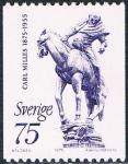 Sellos de Europa - Suecia -  CENT. DEL NACIMIENTO DEL ESCULTOR CARL MILLES. Y&T Nº 886