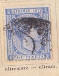 Sellos de Europa - España -  Alfonso XII Ed 1876 Ultramar