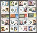 Sellos del Mundo : America : Cuba : Historia Latinoamericana, Heroes