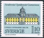 Sellos de Europa - Suecia -  500 ANIV DE LA UNIVERSIDAD DE UPPSALA. Y&T Nº 964