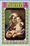 Sellos de America - Granada -  Tiepolo: Madonna of the Goldfinch